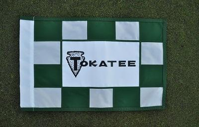 Tokatee Checked Golf Flag