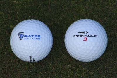 tokatee logo golf ball